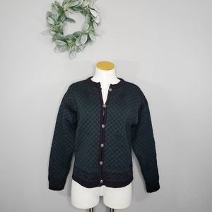 VTG Dale of Norway Pure New Wool Nordic Cardigan